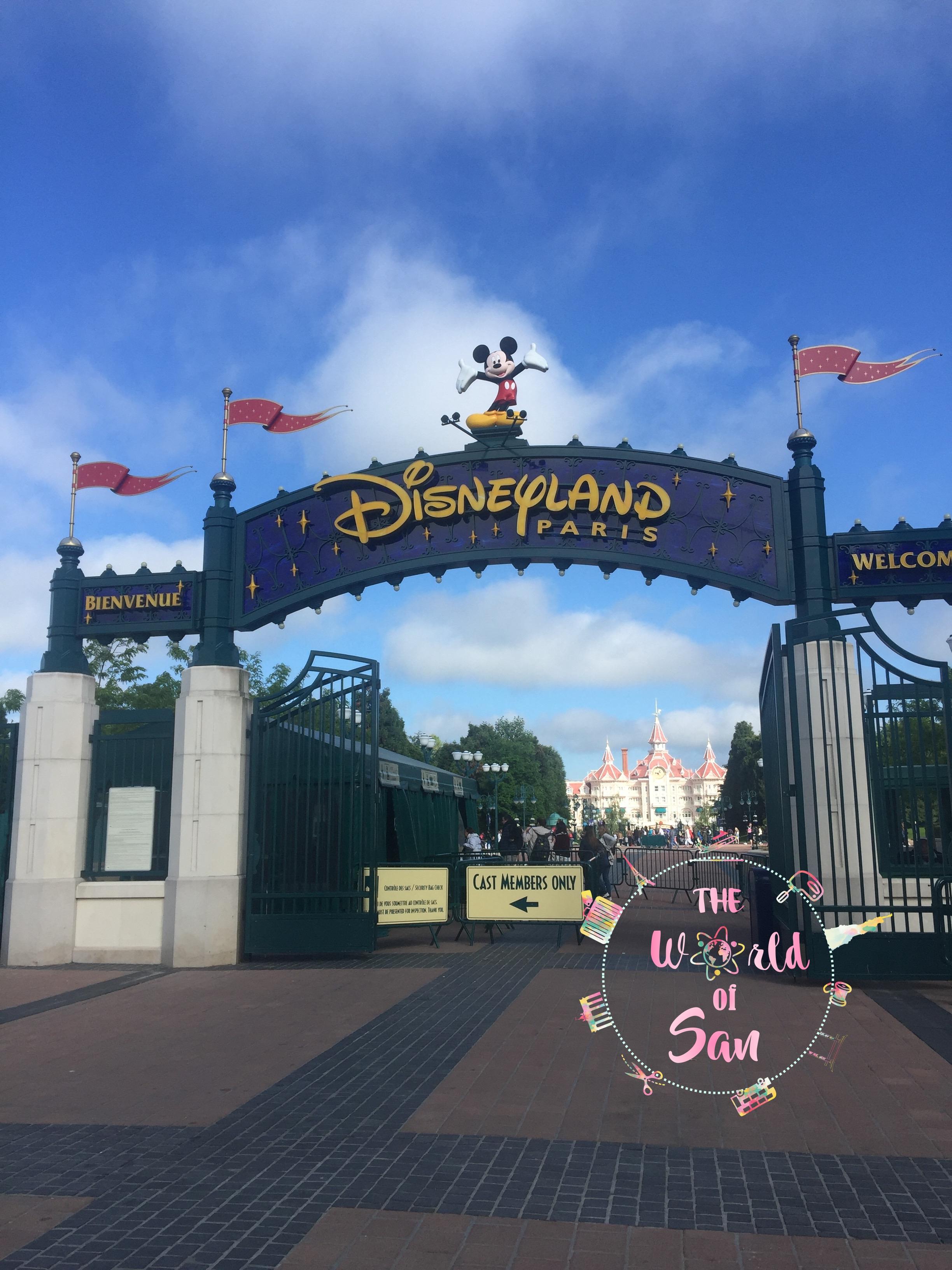 Entrada Disneyland París