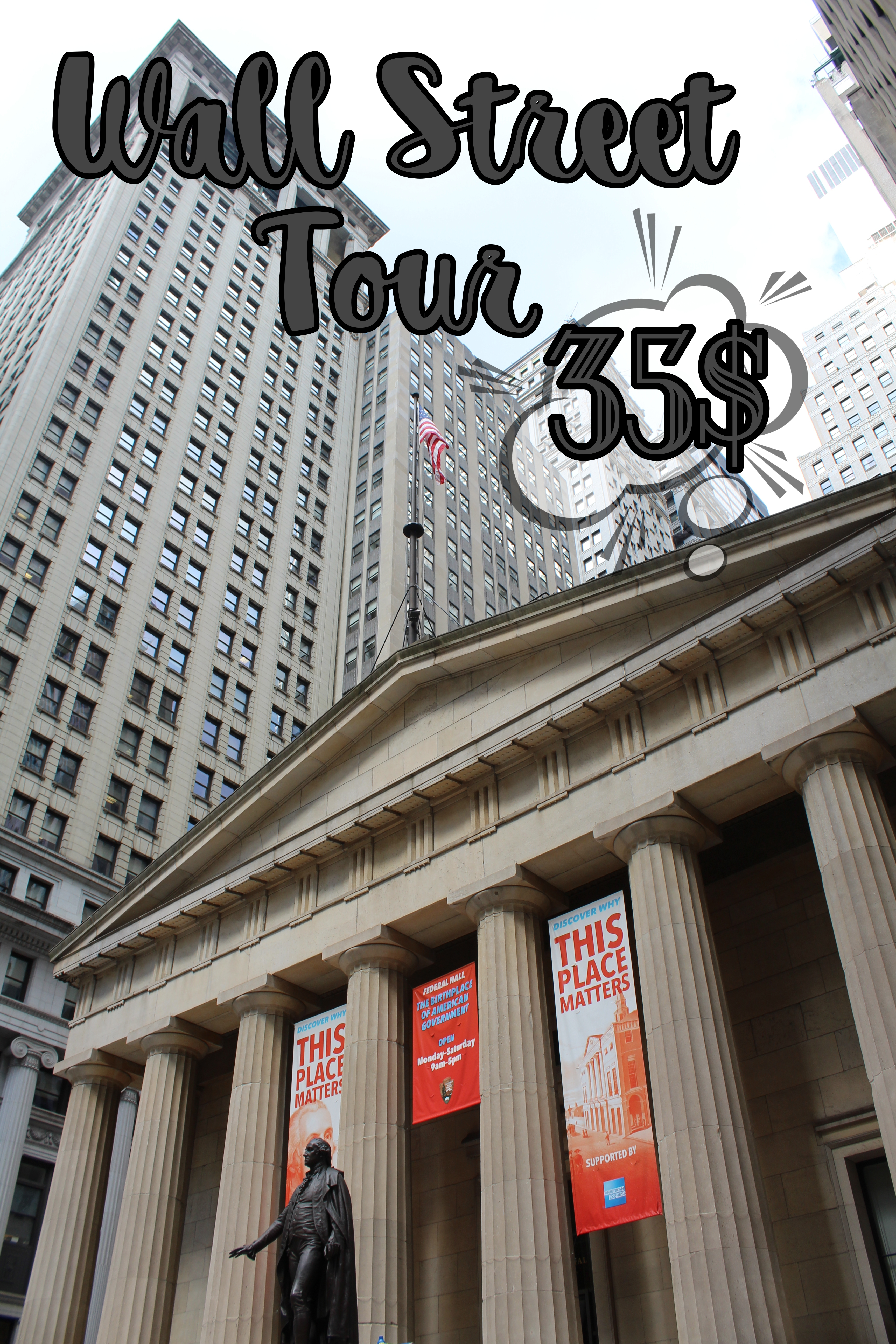 precio wall street tour