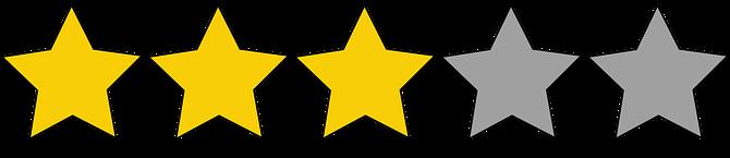 tres estrellas