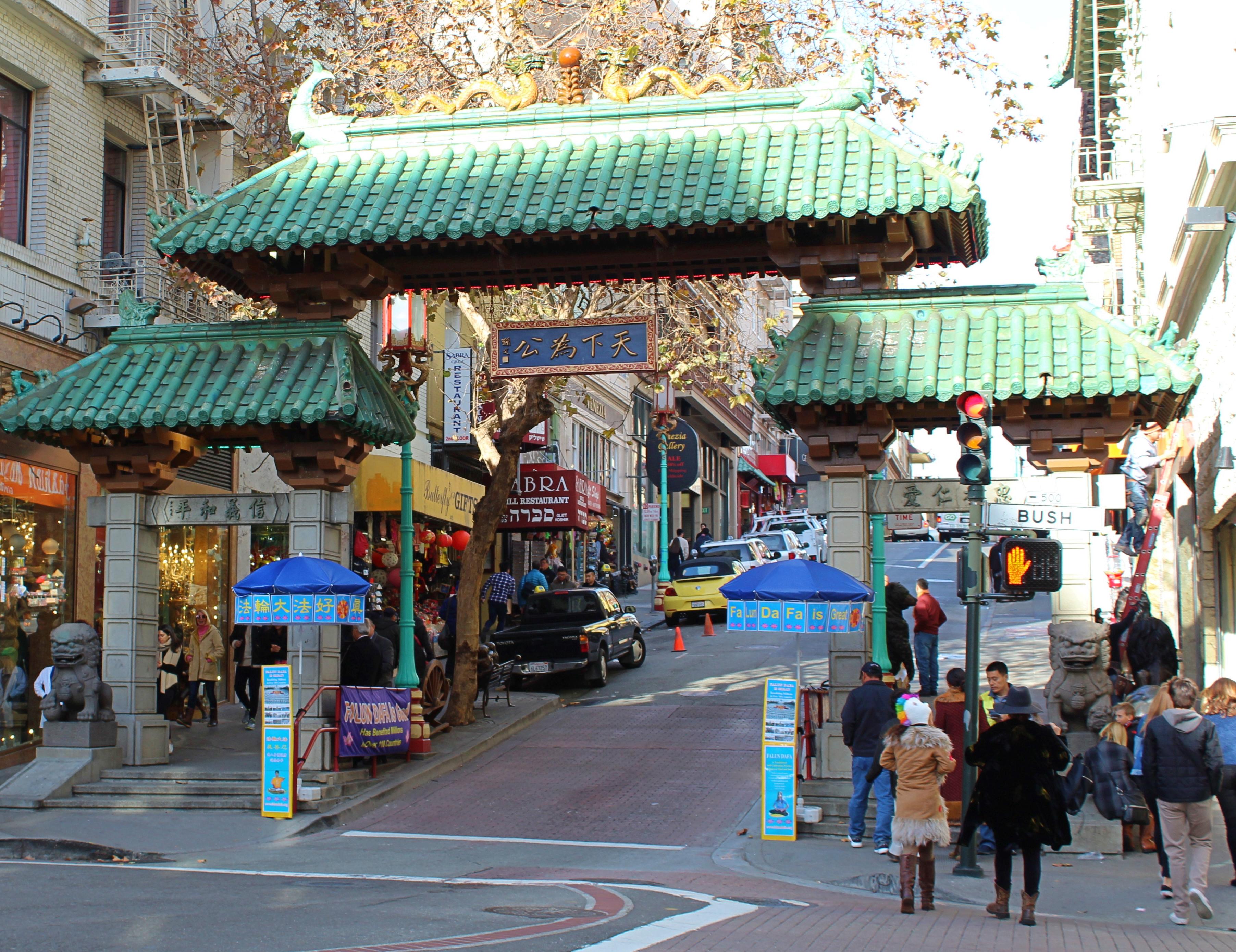 Puerta del Dragón San Francisco